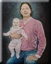 Wouter met dochter - Annemieke Berning